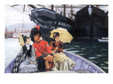 How Happy I Would Be with Both Art by James Tissot