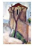 Amedeo Modigliani - Tree and House Obrazy