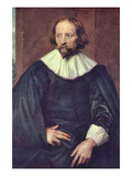 Portrait of Quintijn Simons Prints by Sir Anthony Van Dyck