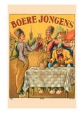 Boere Jongens Prints by  Mvdh