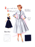 2 Piece Suit Dress 1 Little Price! Posters by  Fashion Frocks