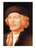 Portrait of a Young Man 2 Print by Albrecht Dürer