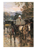 Rue Bonaparte Print by Childe Hassam