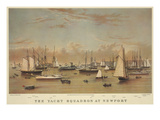 The Yacht Squadron at Newport Prints