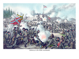 Battle of Ft. Sanders at Knoxville, Tennessee Prints