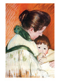Woman and Child Prints by Mary Cassatt