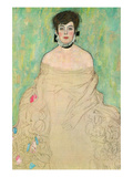 Portrait of Amalie Zuckerkandl Prints by Gustav Klimt