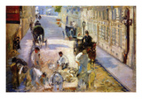 Road Workers, Rue De Berne Prints by Edouard Manet