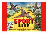 Sport Beer Prints
