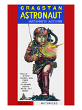 Cragstan Astronaut Automatic Actions Posters