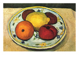 Still Life Fruit Art by Paula Modersohn-Becker