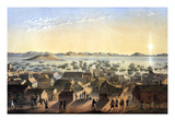 Birds Eye of the Village of San Francisco Posters by  M & N Hanhart Chromo Lithograph Co