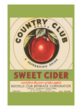 Country Club Sweet Cider Kunstdruck