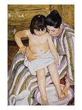 The Bath Poster by Pierre-Auguste Renoir