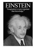 Einstein Premium Giclee Print by Wilbur Pierce