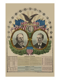National Republican Chart 1876 Posters by H. H. Lloyd