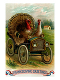 Thanksgiving Greetings: a Quick Getaway Posters