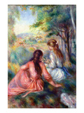 In the Meadow Art by Pierre-Auguste Renoir
