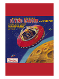 Battery Operated Flying Saucer Prints