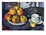 Still Life with Cup and Saucer Prints by Paul Cézanne