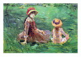 In the Garden Premium Giclee Print by Berthe Morisot