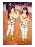Acrobats at the Cirque Fernando, 1879 Print by Pierre-Auguste Renoir