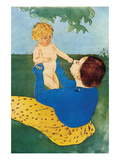 Under the Tree Posters by Mary Cassatt