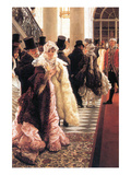 The Fashionable Woman Art by James Tissot