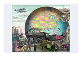 Twentieth Century Transportation Prints by  Delmont Co