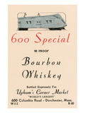 600 Special Bourbon Whiskey Prints