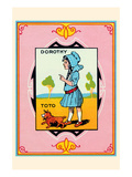 Dorothy and Toto Posters by John R. Neill