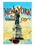 New York; the Wonder City Posters by Irving Underhill