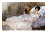 Madame Hubard Prints by Berthe Morisot