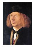 Portrait of Burkard Von Speyer Print by Albrecht Dürer