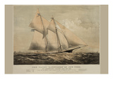 "The Yacht ""Dauntless"" of New York Prints"