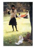 Cricket Print by James Tissot