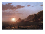 Large Manan Island, Bay of Fundy Prints by Frederic Edwin Church