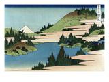 Lake of Hakone in Sagami Province Kunstdruck von Katsushika Hokusai