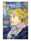 Portrait of Miss Dolly Lminas por Henri de Toulouse-Lautrec