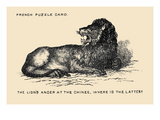 The Lion's Anger at the Chinee. Where Is the Latter Prints by  Theo Leonhardt & Son