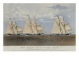 The Great Ocean Yacht Race Between the Henrietta, Fleetwing and Vesta Posters