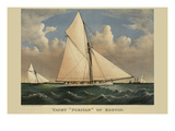 "Yacht ""Puritan"" of Boston Prints"
