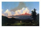 In Memory of Cole Poster by Frederic Edwin Church