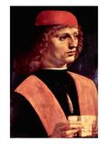 Portrait of a Musician Posters by  Leonardo da Vinci