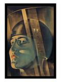 Werner Graul - Metropolis (filmový plakát vněmčině) Umělecké plakáty