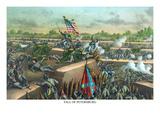 Fall of Petersburg, Virginia Poster