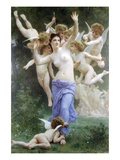 Invitation Premium Giclee Print by William Adolphe Bouguereau