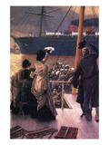 Farewell to the Mersey Posters by James Tissot