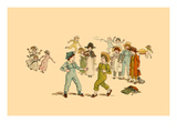 The Fight Prints by Kate Greenaway
