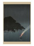 Karasaki Pines at Night Prints